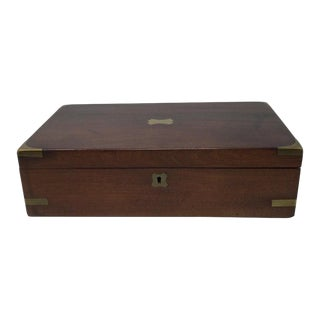Antique English Writing Box For Sale