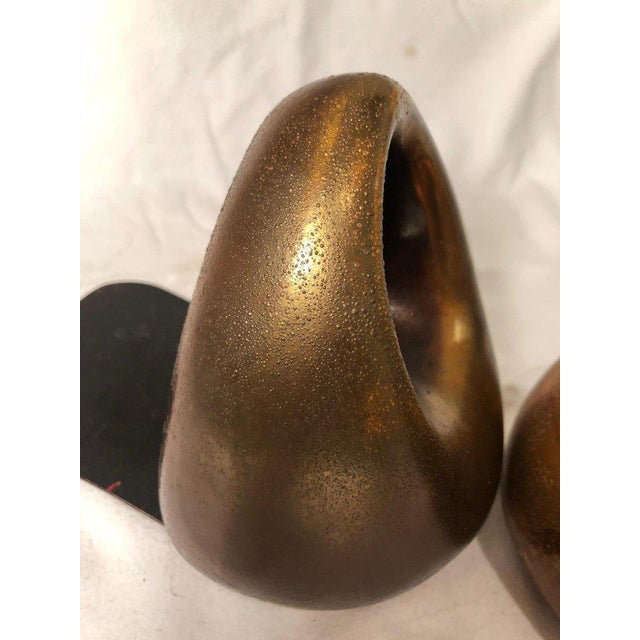 JenFred Ben Seibel Copper Finish Orb Bookends - a Pair For Sale In New York - Image 6 of 10
