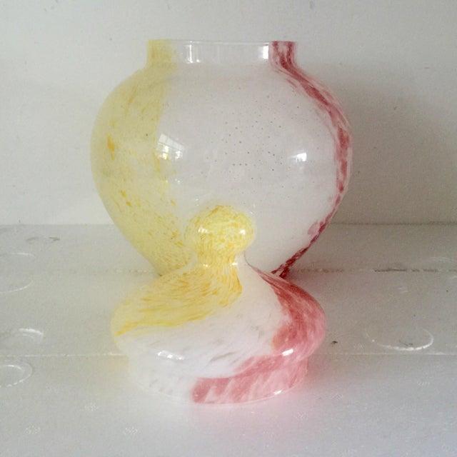 Italian Art Glass Cookie Jar - Image 4 of 6