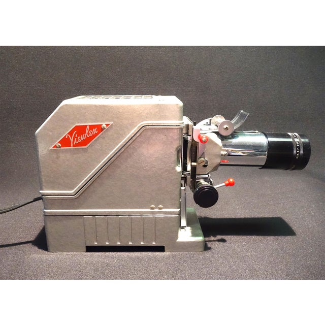 View Lex Circa 1950 Film Projector in 100% Original State For Sale - Image 4 of 12