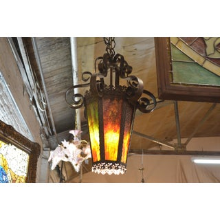 Antique French Victorian Lantern Style Pendant Chandelier Preview
