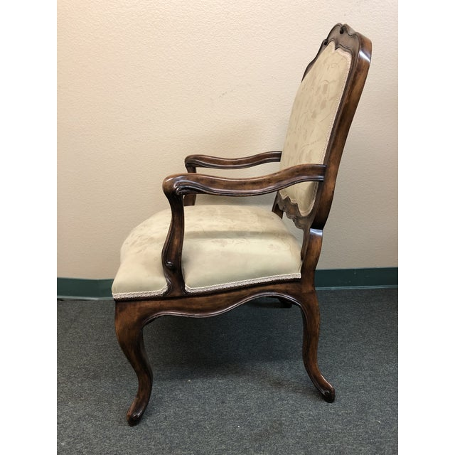 Michael Taylor New Danieli Arm Chair by Panache Designs For Sale - Image 4 of 13