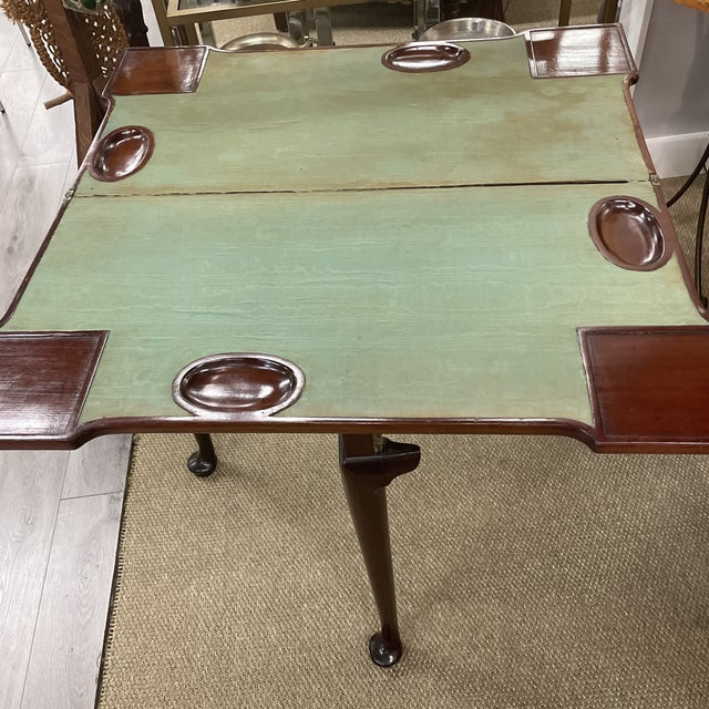 Antique Queen Anne Game Table For Sale - Image 12 of 13