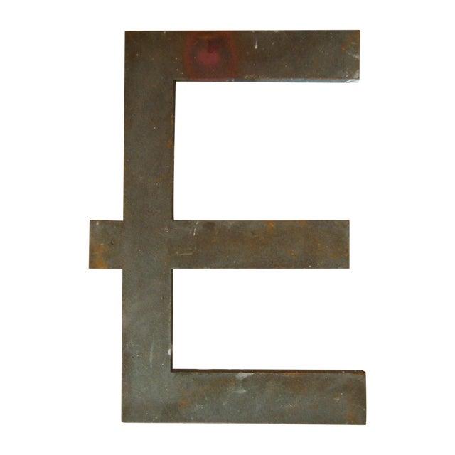 """Vintage Bronze Letter """"E"""" - Image 1 of 3"""