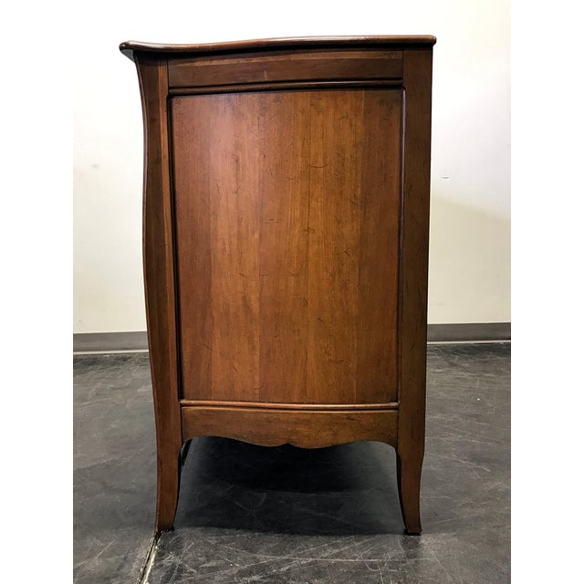Davis Cabinet French Provincial Solid Cherry Dresser - Image 9 of 11