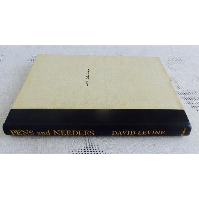 Pens & Needles Signed John Updike David Levine - Image 4 of 9