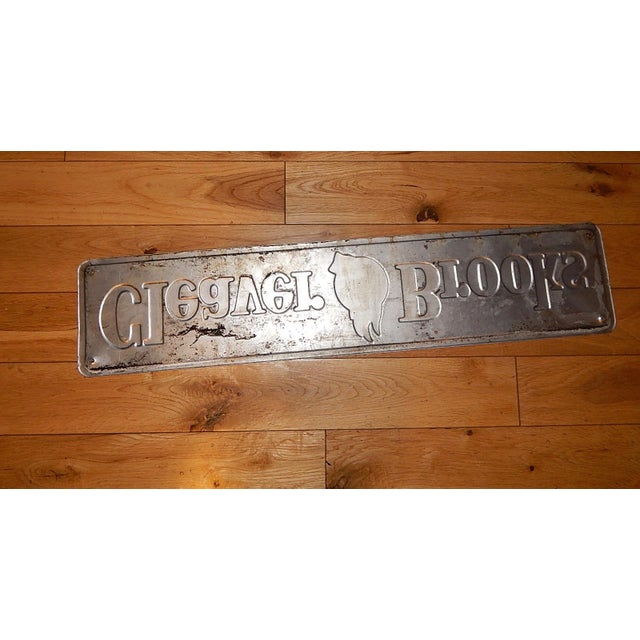 Vintage Cleaver Brooks Metal Sign - Image 6 of 6