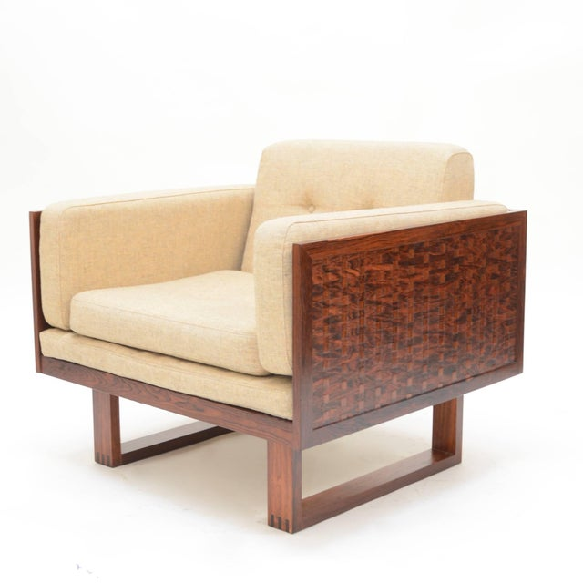 Mid 20th Century Poul Cadovius Chair in Rosewood for France & Son For Sale - Image 5 of 11