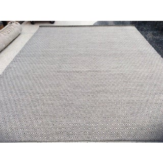 """Black and White Diamonds Rug - 10' X 14'2"""" Preview"""