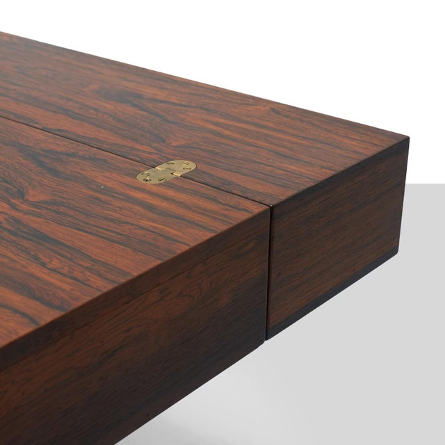 Brown Partners Desk by Peter Lovig Nielsen For Sale - Image 8 of 11
