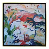 "Image of Laurie MacMillan ""Foothills"" Abstract Painting For Sale"