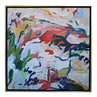 "Laurie MacMillan ""Foothills"" Abstract Painting For Sale"