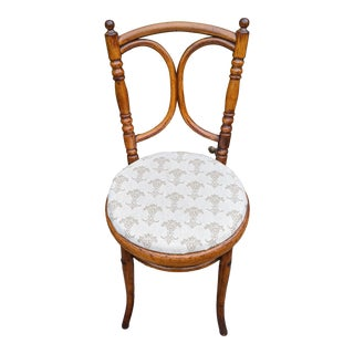Antique Michael Thonet No. 36 Bentwood Beech Bistro Dining Chair For Sale