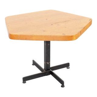 Les Arcs Adjustable Pentagonal Table For Sale