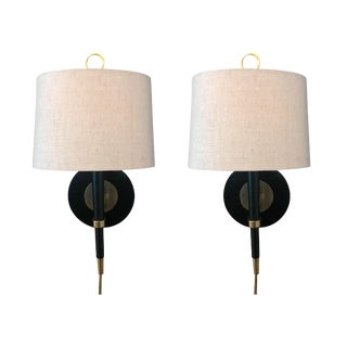 Robert Abbey for Jonathan Adler Brass Sconces- A Pair