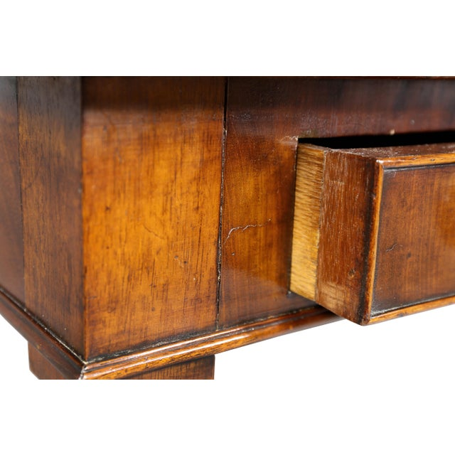 Wood Regency Mahogany Writing Table For Sale - Image 7 of 12