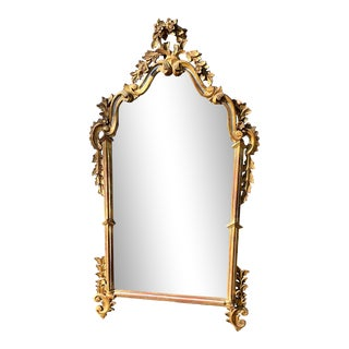 Vintage Cannell & Chaffin Rococo Style Hollywood Regency Mirror For Sale