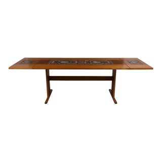 Danish Poulsen for Gangsø Møbler Dining Room Table For Sale