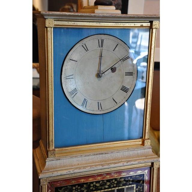 Rare and Important Aaron Willard Massachusetts Federal Shelf Bride's Clock, ca 1820 - Image 3 of 6