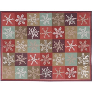 "Stark Studio Rugs Traditional Portuguese Needlepoint Rug - 4'1"" X 6'1"" For Sale"