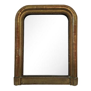 19th Century Parcel-Gilt Louis-Philippe Mirror