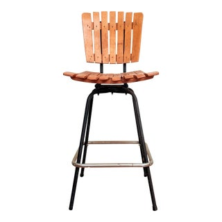 "Arthur Umanoff ""Counter-Height"" Bar Stool For Sale"