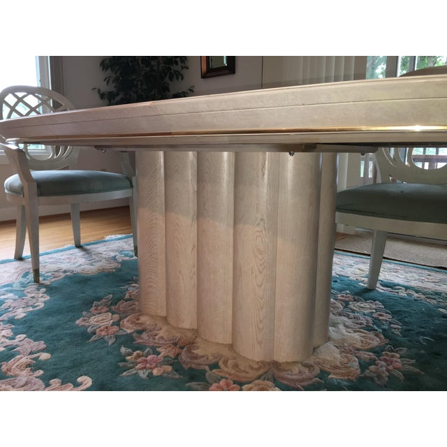 Henredon Dining Table & Chairs For Sale - Image 6 of 9