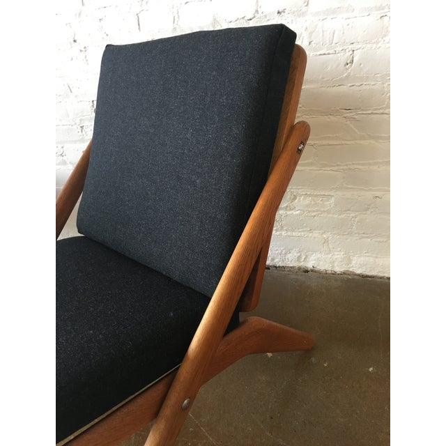 """Vintage """"Z"""" Chairs - A Pair - Image 4 of 5"""