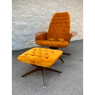 Mr. Chair With Ottoman by George Mulhauser for Plycraft Preview