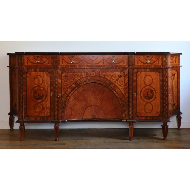David Michael English Style Sideboard From Winston Churchill Suite of Waldorf Astoria For Sale - Image 13 of 13