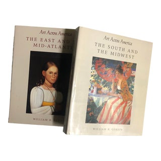 3 Volumes of Art Across America by Gerdts For Sale