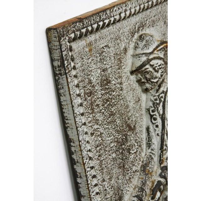 Tan 19th Century Cast Iron Hunt Plaque For Sale - Image 8 of 10