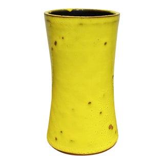 1960s Acid Yellow Gramann Römhild Vase For Sale