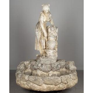 French Composite Stone Garden Fountain Preview