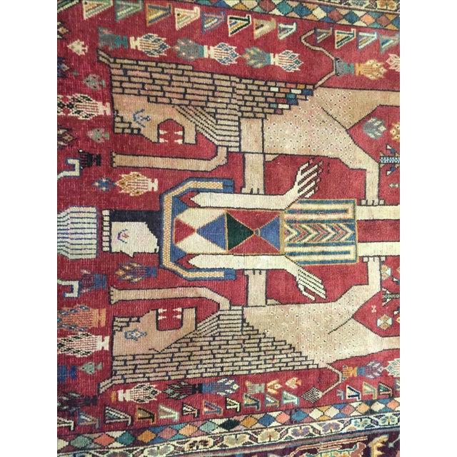 Quashaghi Persian Rug - 5' x 7' - Image 7 of 7