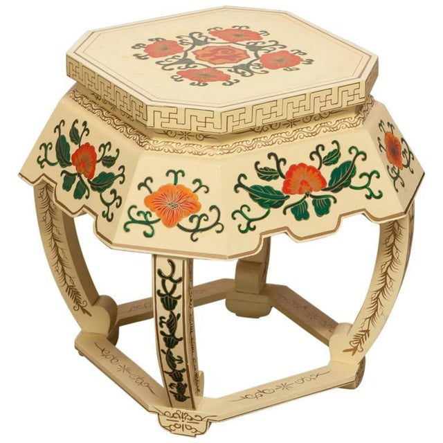 Chinese Lacquered Garden Stool - Image 1 of 10