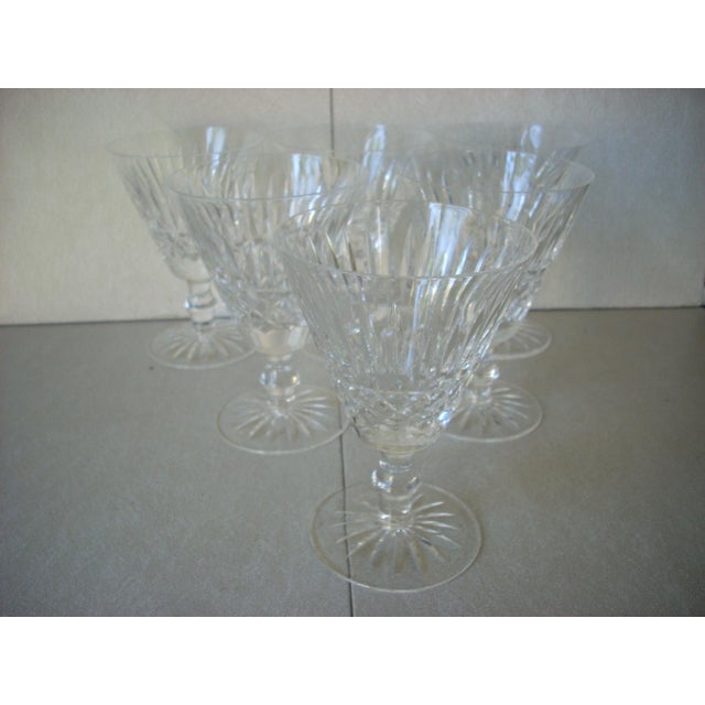 Waterford Crystal Waterford Crystal Wine Glasses - Set of 6 For Sale - Image 4 of 4