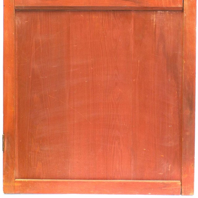 Japanese Solid Wooden Door For Sale In New York - Image 6 of 7