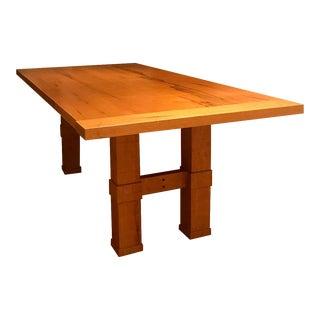 Jerusalem Wood Dining Table