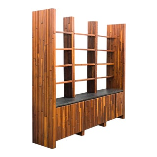 Phillip Lloyd Powell, Custom Cabinet With Shelves, Usa, 1960s For Sale