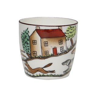 English Hunting Scene Shot Glass Preview
