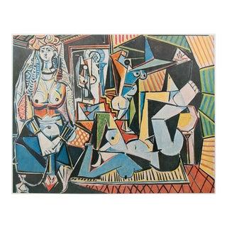 1971 Picasso Les Femmes d'Alger Parisian Photogravure