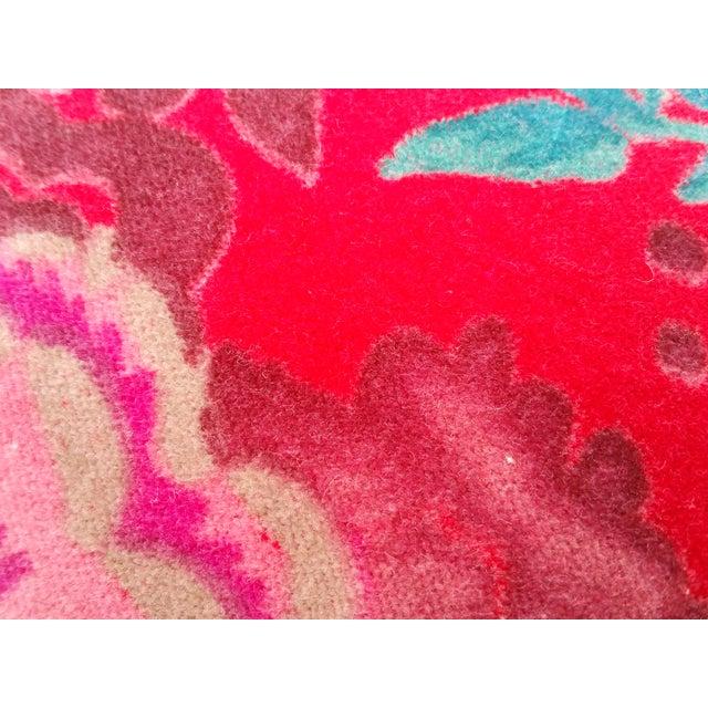 Velvet Rose Pillows- A Pair - Image 4 of 5