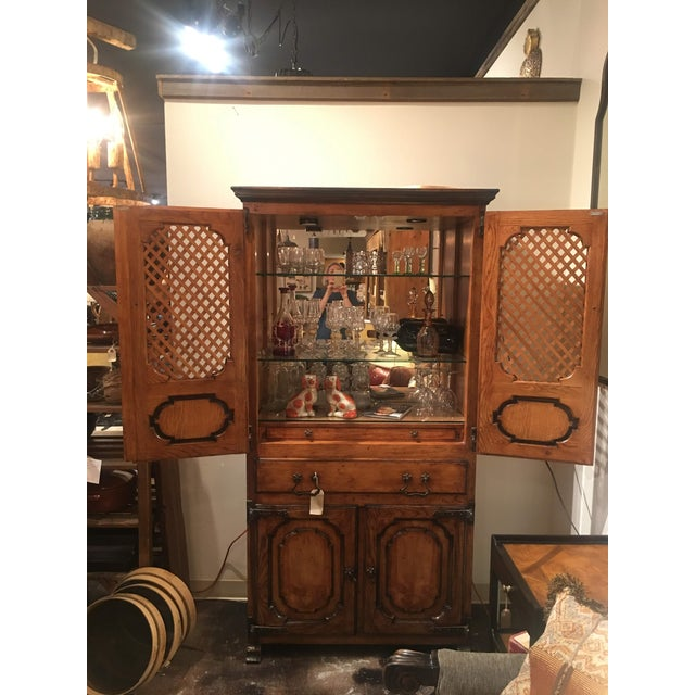 Traditional Traditional Sarried Marbella Cabinet For Sale - Image 3 of 12