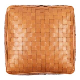 Unstuffed Leather Ottoman Dakota For Sale