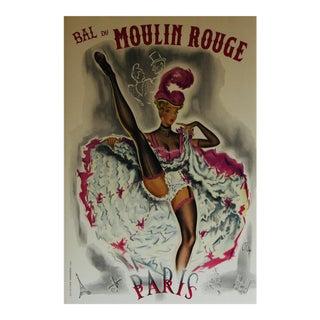 Vintage Moulin Rouge Poster