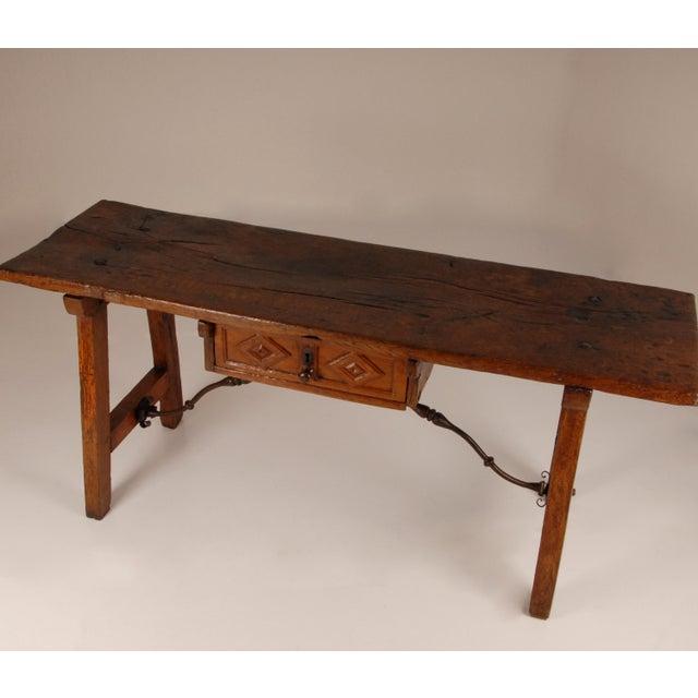 Antique Renaissance Spanish Console Table For Sale - Image 9 of 12