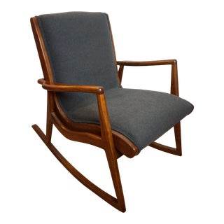 Rare Mel Smilow Rocking Chair For Sale