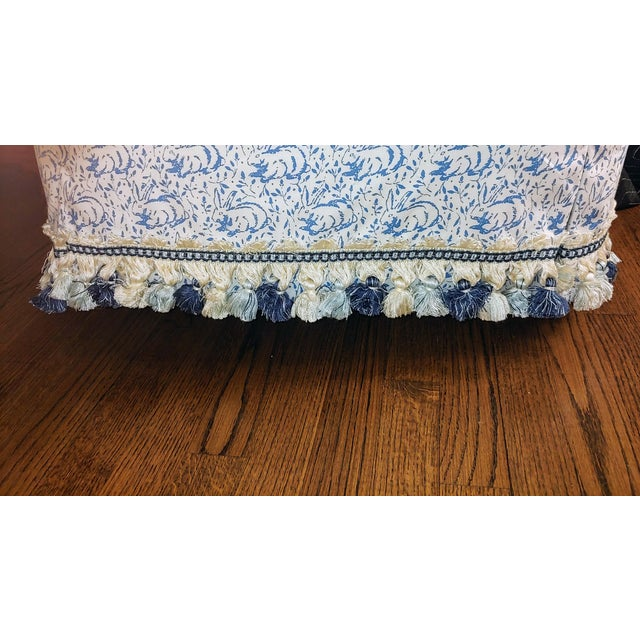 Custom Upholstered Bunny Tub Chairs - a Pair For Sale - Image 4 of 6