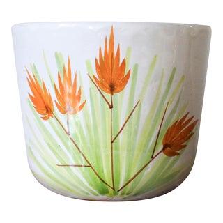 Vintage Italian Ceramic Planter For Sale
